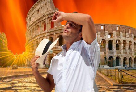 italia caldo record